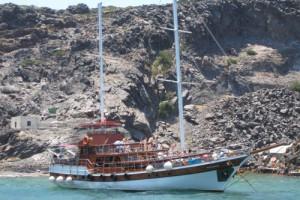 Caldera Boat Tour, Santorini, Greece