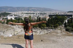 Sightseeing in Athens, Greece