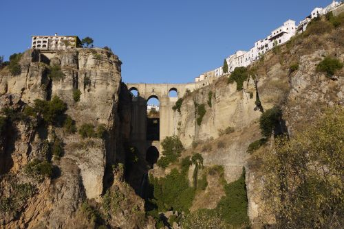 Ronda Bridge from Below