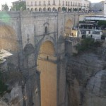 Atop the Ronda Bridge