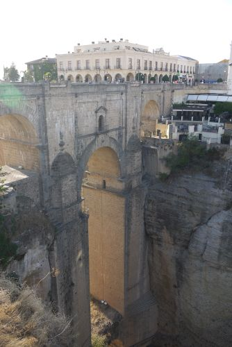 Ronda Bridge from Top