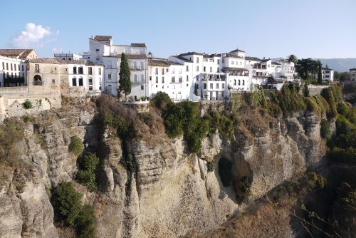 Ronda Buildings and Cliffs