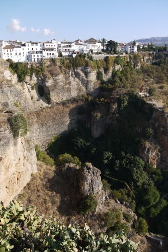 Ronda Perched Above the River