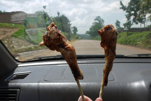 Jinja – Chicken on a Stick