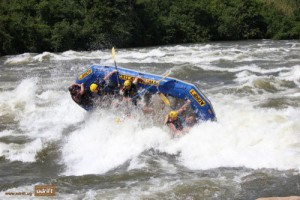 White Water Rafting – Nile River, Uganda