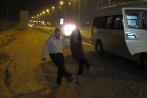 Roadside Dance Party, Cairo, Egypt (Photos)