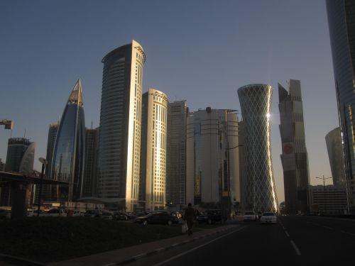 Qatar – Doha Skyline 2