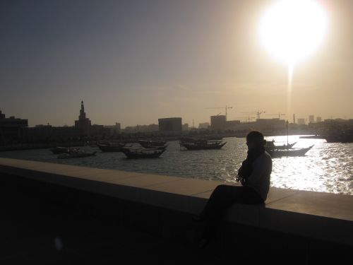 Qatar – Looking Out Doha Port