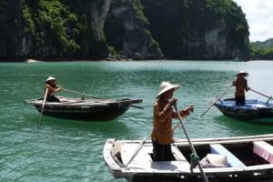 Fishing Village Boat, Ha Long Bay, Vietnam (Photos)