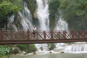 Kuangsi Waterfall 1, Luang Prabang, Laos (Photos)