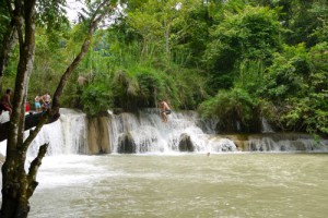 Kuangsi Waterfall 2, Luang Prabang, Laos (Photos)