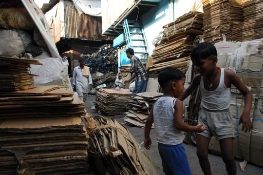 life in Dharavi