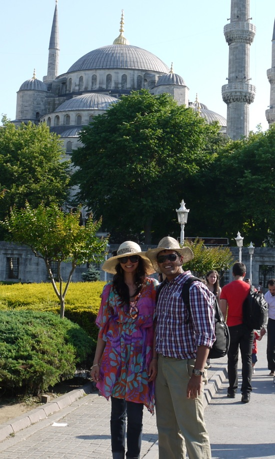 meeting our soon to be friends, Lav and Arjun, in Instanbul, Turkey