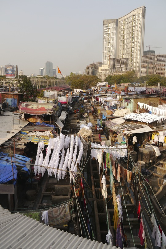 welcome to Mumbai's largest commercial laundry operation