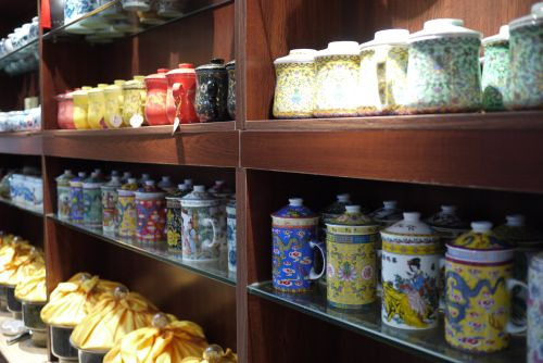 endless teas to choose from